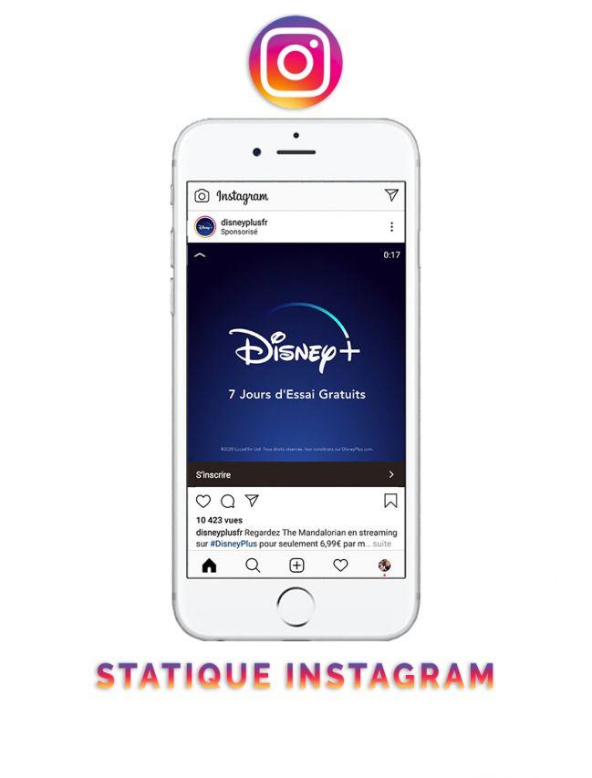 Statique Instagram